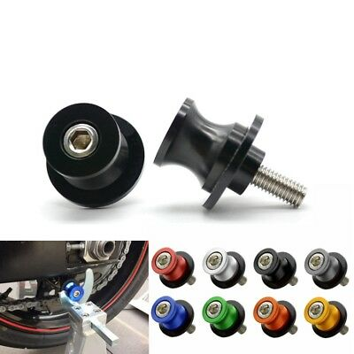 Motorcycle SwingArm Paddocks Stand Bobbins Sliders Spool For Z800 Z1000