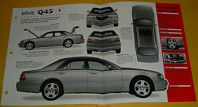 1996 1997 1998 Infiniti Q45 V8 266 hp MPFI IMP Info/Specs/photo 15x9