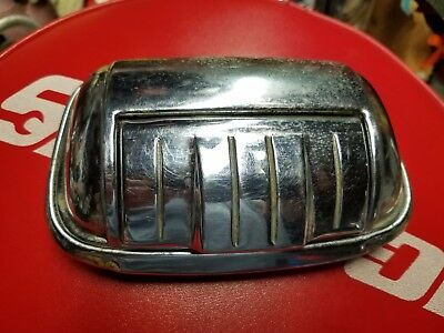 Automobile ashtray Art Deco 50s chrome beautiful condition