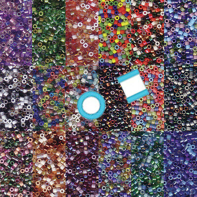 Miyuki Delica 11/0 7 grams 1200 Glass Seed Beads Mix 28 colors U-Pick