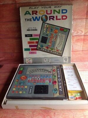Play Your Way Around The World BOARD GAME VINTAGE VERSION John Sands