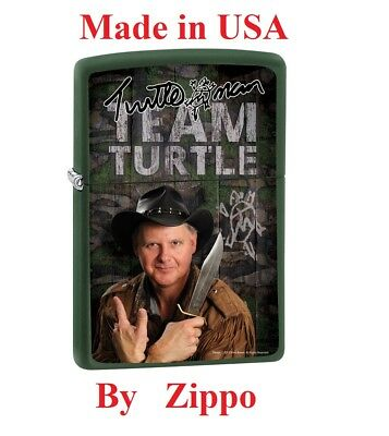 Zippo Lighter Turtleman Team Turtle Limited Edition