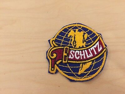 schlitz  beer patch, globe, new old stock 1970's