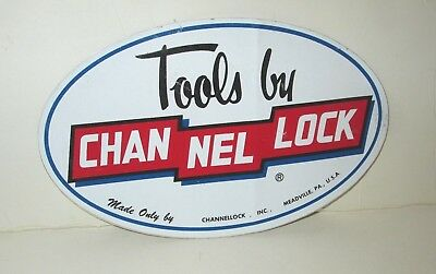 Tools By Chan Nel Lock Channellock Hardware Store Retail Promo 2 Sided Sticker