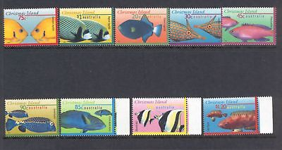 Christmas Island  1995/97  Fish, MNH.