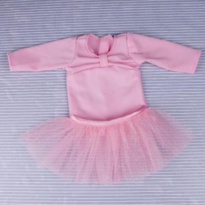 3 Suit Clothes Ballet Dance Skirt Dress Shoes for 18inch American Girl_Doll