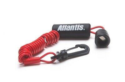 Sea Doo BRP Dess Key Switch Floating Lanyard Tether Red RFI DI 4-Tec All