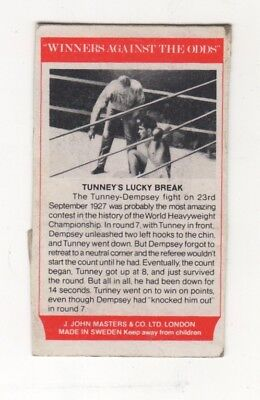 Boxing. Tunney v Dempsey World Heavyweight Fight in 1927