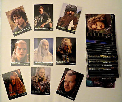 Lord Of The Rings - The Return Of The King Movie Trading Card Set