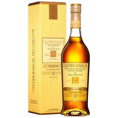 Glenmorangie `Nectar d'Or` Single Malt Scotch Whisky (6 x 700mL) Highland.