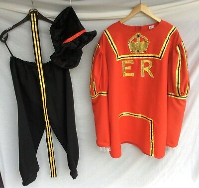 Quality Beefeater Costume Ideal For Stage, Theatre, Panto, Fancy Dress Etc.