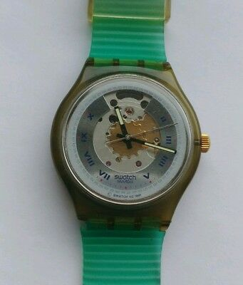 Swatch RUBIN SAM 100 1991 Automatic 23 jewels Swiss made Vintage Automatik TOP
