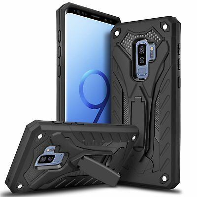Slim Hybrid Dual Layer Shockproof Armor Defend Rugged Hard Protective Combo Case