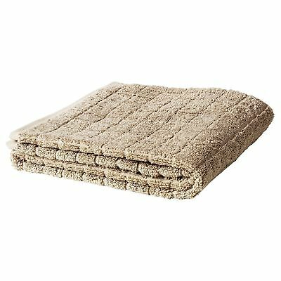 ikea afjarden beige natural thick bath hand face towels 100 cotton