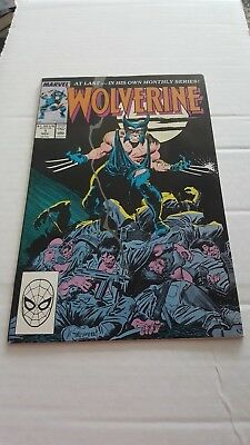 Wolverine #1 (Nov 1988, Marvel) VF+/NM-...1ST.APPEARANCE OF PATCH!!!