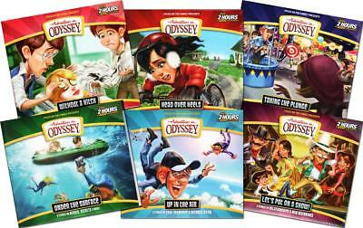 NEW 6 Sets Adventures in Odyssey Volumes 59 60 61 62 63 64 12 CDs Christian Kids