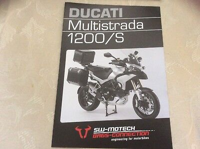 Ducati Multistrada 1200/S brand new brochure Bags Connection