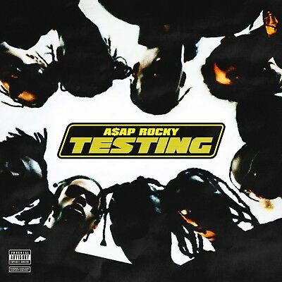 A$AP Rocky Testing 2018 (Mixtape) CD Album Rap PA Trap Hip Hop R&B Rnb RB