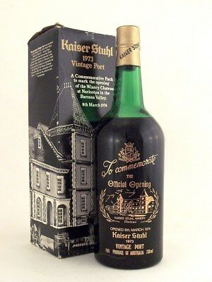 1973 KAISER STUHL Vintage Port in original box #H FREE DELIVERY ISLE OF WINE