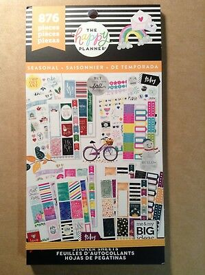 "NEW! me & my big ideas ""ALL IN A SEASON"" Value Pack Stickers - 876 Pieces"