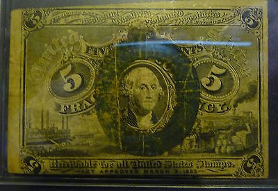US 5c Circulated Fractional Currency FR1232