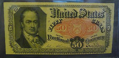 US Uncirculated 50c Fractional Currency FR 1381