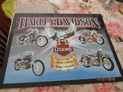 Harley Davidson Poster Motor Legends Cycle 56Cmsx71Cms