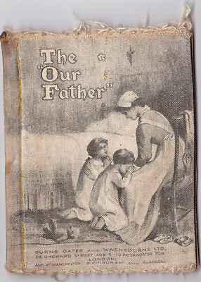 Rag Book The Our Father over 100 years old by Dean's Ragbook Co Ltd