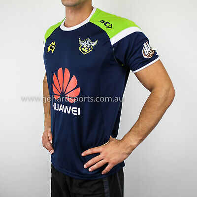 Canberra Raiders 2018 NRL Men's Navy Training Tee *BNWT* (Sizes S - 3XL)