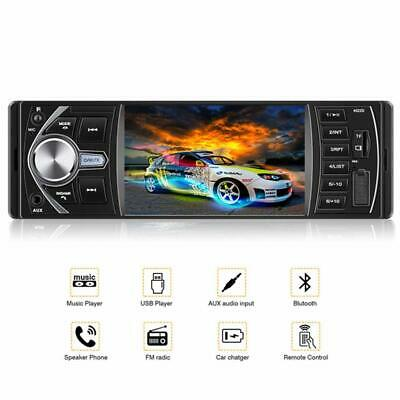 Car Audio Stereo Receiver Bluetooth MP3 Music Player USB TF Universal Single Din