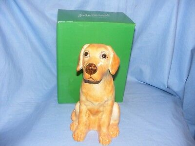 John Beswick Labrador Dog Yellow Money Box Bank NEW JBMBA7