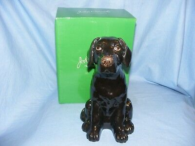 John Beswick Labrador Dog Black Money Box Bank NEW JBMBA8