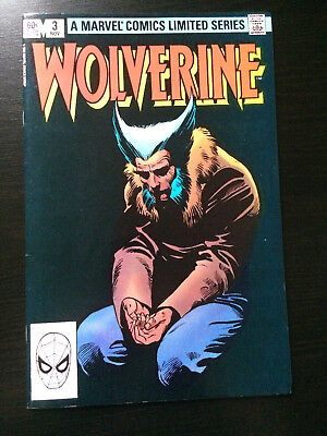 Wolverine # 3 by Chris Claremont & Frank Miller (1982) (Scarce)