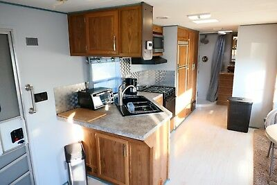 Tiny Home on Wheels, 1 Bedroom - Bathroom Studio, Slide Out Section, 8' x 30'