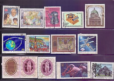 Austria  1990/94  Selection of 14, used.