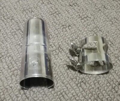 Used Yamaha bb clarinet mouthpiece ligature and cap in very good conditions