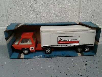 Allis Chalmers Structo by ERTL Toys Truck and Trailer Hurricane