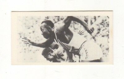 Olympic Games Swimming Card 1979. Jesse Owens USA