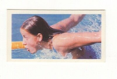 Olympic Games Swimming Card 1979. Kornelia Ender, East Germany