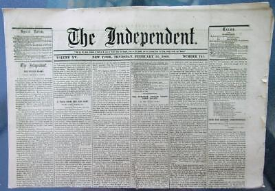 1863 CIVIL WAR News – Vicksburg, Copperheads, Horace Greeley, Queen Victoria