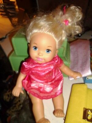 """2011 Mattel Fisher Price Little Mommy """"Sweet As Me""""  14"""" Doll"""