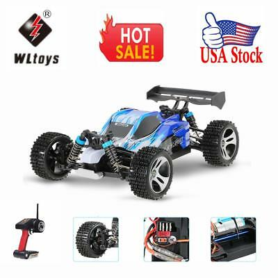Original Wltoys A959 Upgraded Version 1/18 Scale 2.4G Remote Control 4WD Q5I5