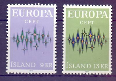 Iceland  1972  Europa, MH.