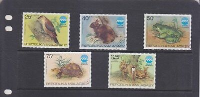 Malagasy Republic-1975-Okinowa Int. Exhibition Set-Sg 320-4-Cto/no Gum/no Hinge