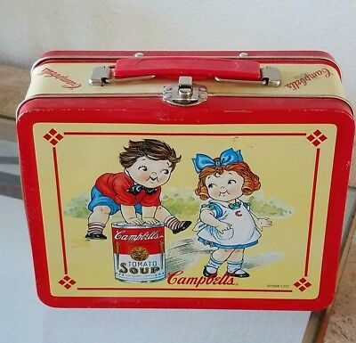 1998 Campbell Soup Kids metal Lunch Box