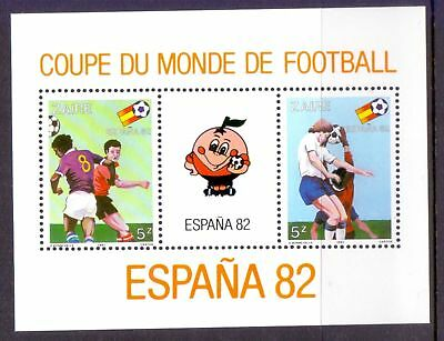 Zaire  1982  Mini sheet, World Cup Soccer, M NG.