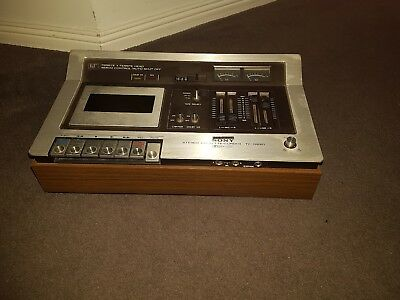 Sony TC-136SD Cassette Deck vintage japan
