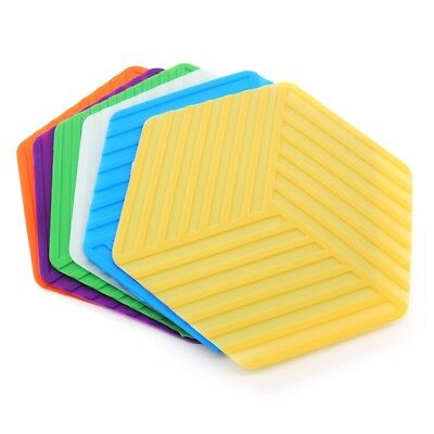 Eco Friendly Silicone Heat Resistant Non Slip Mat Coaster Mat Cushion Pads