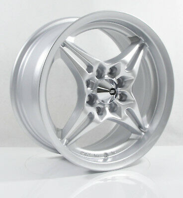 4pcs SR1 15 inch Mag Wheels Rim 4X100 4X114.3 Alloy wheel Car Rims 3935 SILVER-4