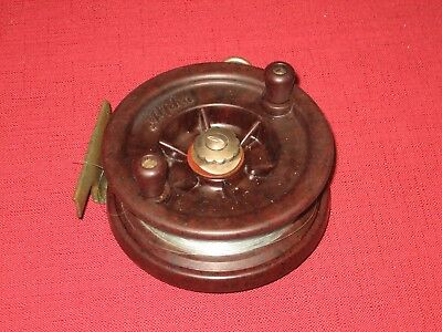 Vintage Alpha 4 Inch Fishing Reel In Very Good Condition.